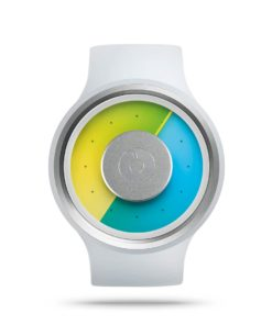 ZIIIRO Proton Milky White Watch Front Interchangeable