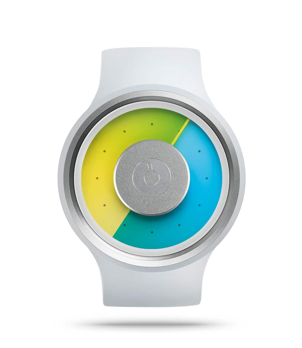 ZIIIRO Proton Milky White Watch Front Interchangeable