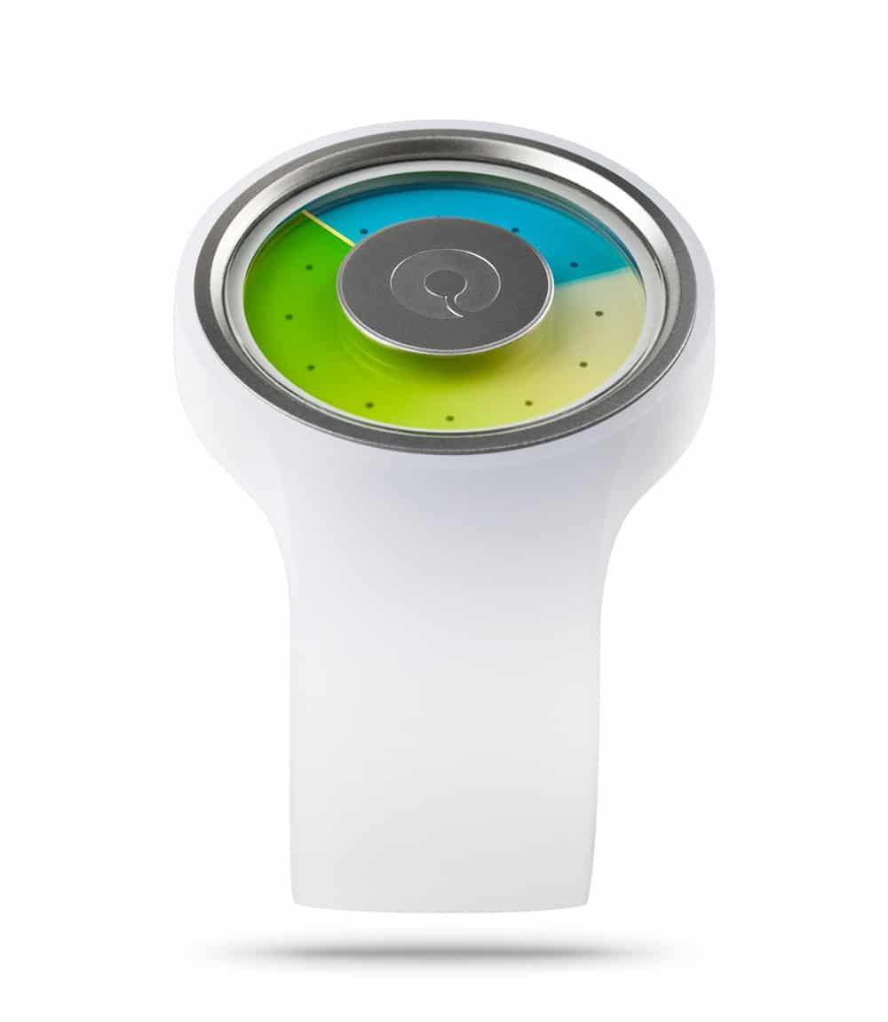 ZIIIRO Proton Milky White Watch Perspective Interchangeable