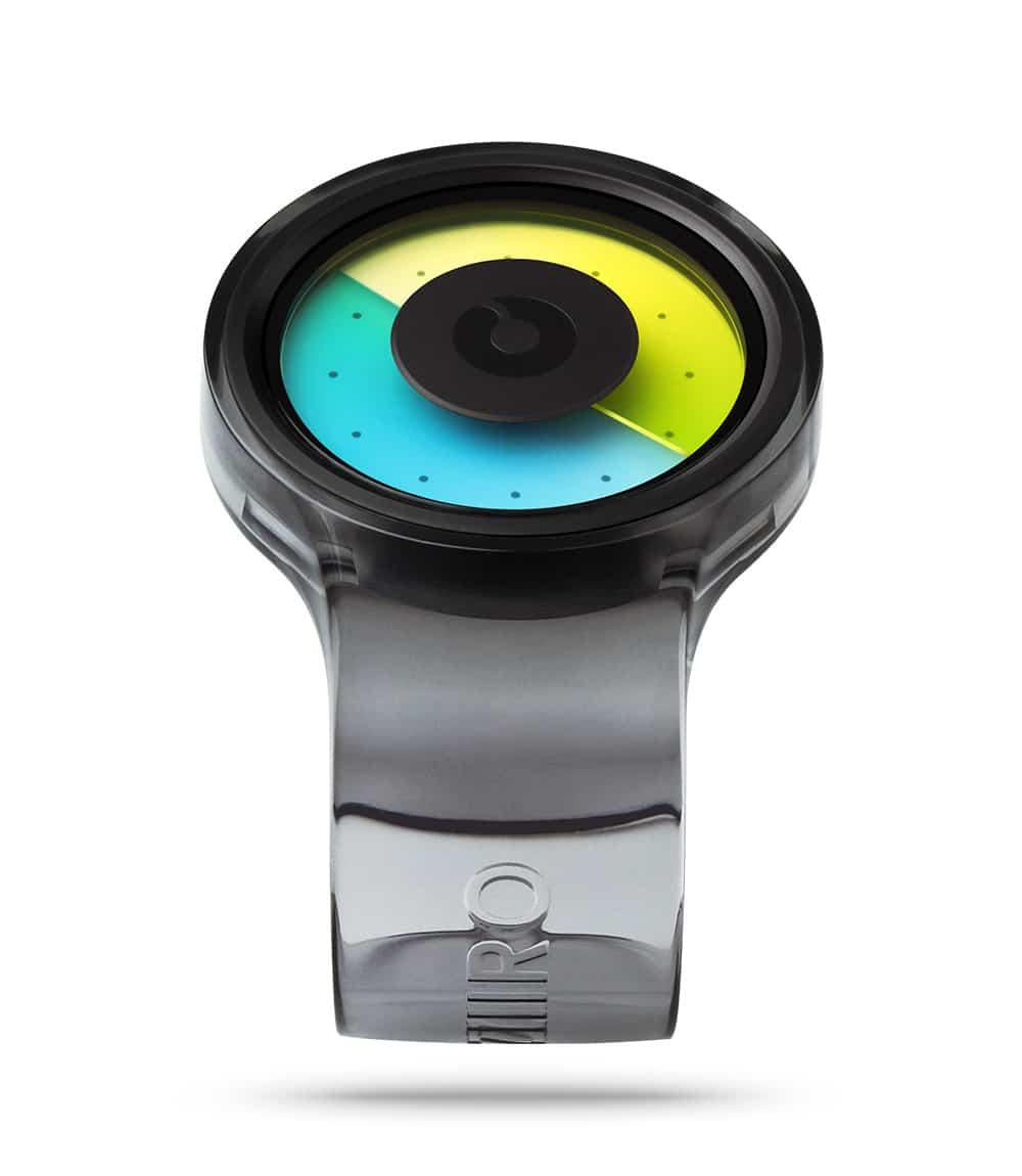 ZIIIRO Proton Transparent Smoke Watch Perspective Interchangeable