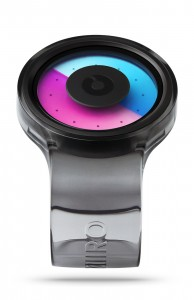 ZIIIRO Proton Black Purple Watch Perspective Interchangeable