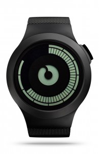 ZIIIRO Saturn Black Watch Front