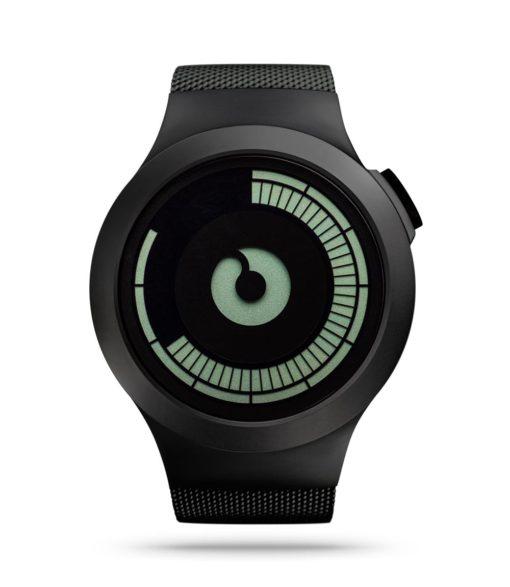 ZIIIRO Saturn Black Watch Front