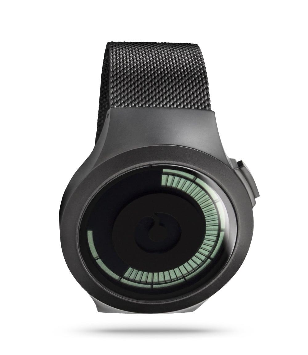 ZIIIRO Saturn Black Watch Perspective Slant