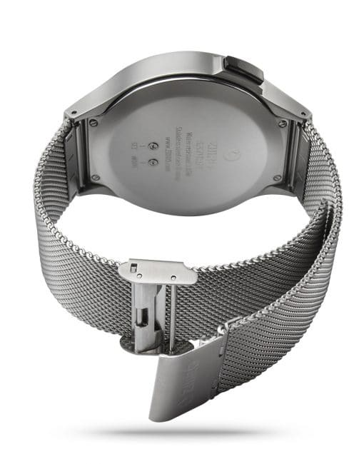 ZIIIRO Saturn Chrome Watch Back