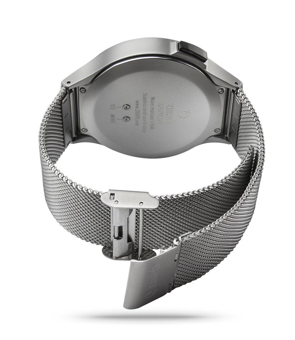 ZIIIRO Saturn Chrome Watch Back