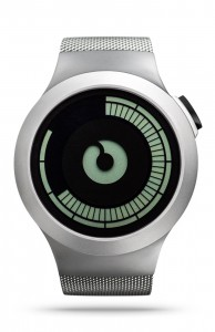 ZIIIRO Saturn Chrome Watch Front