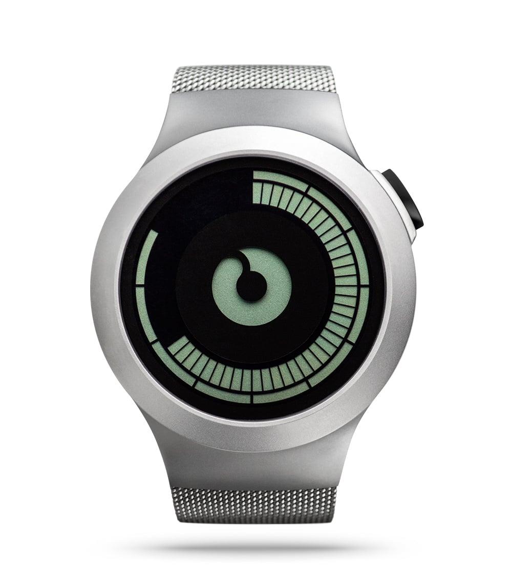ZIIIRO Saturn Chrome Watch Front
