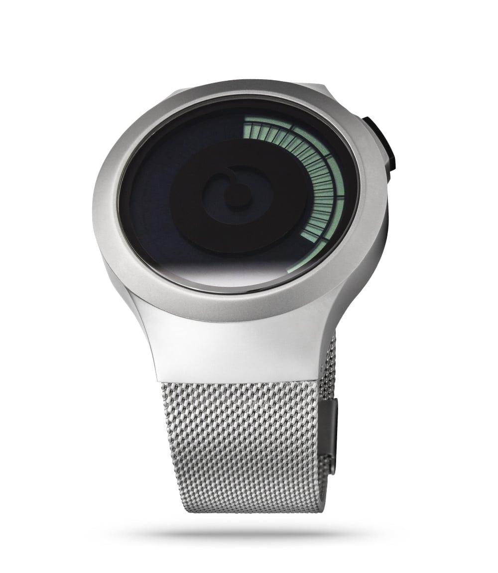 ZIIIRO Saturn Chrome Watch Perspective Slant