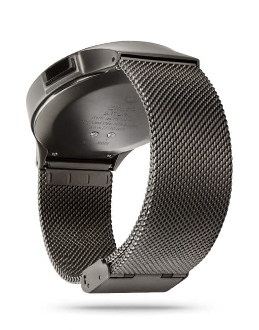 ZIIIRO Saturn Gunmetal Watch Perspective Side