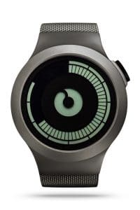 ZIIIRO Saturn Gunmetal Watch Front