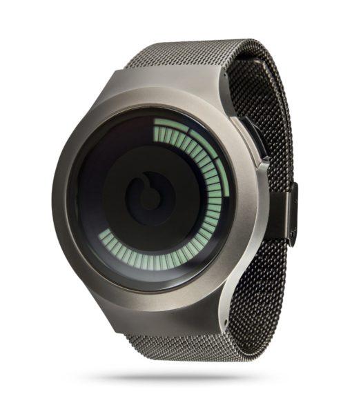 ZIIIRO Saturn Gunmetal Watch Perspective