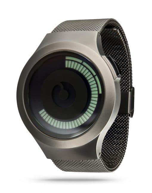 ZIIIRO Saturn Gunmetal Watch Perspective