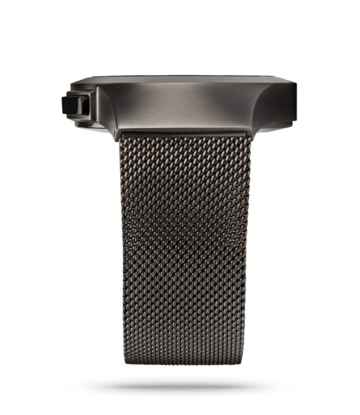 ZIIIRO Saturn Gunmetal Watch Side