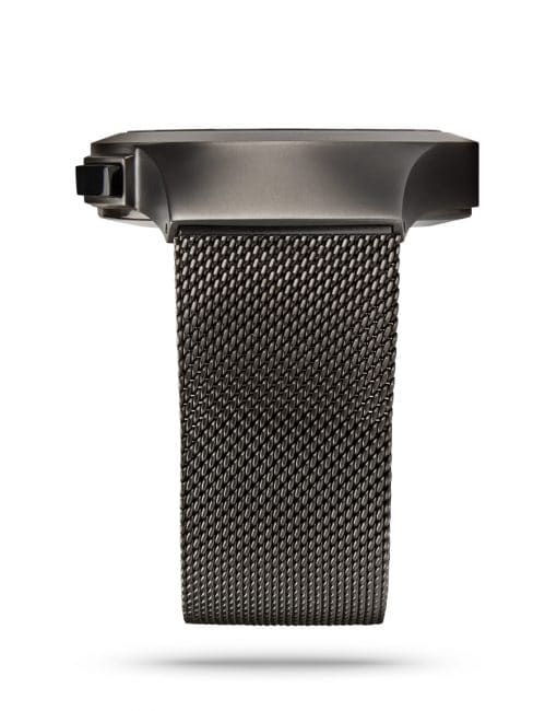 ZIIIRO Saturn Gunmetal Watch Side