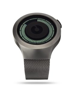 ZIIIRO Saturn Gunmetal Digital Watch