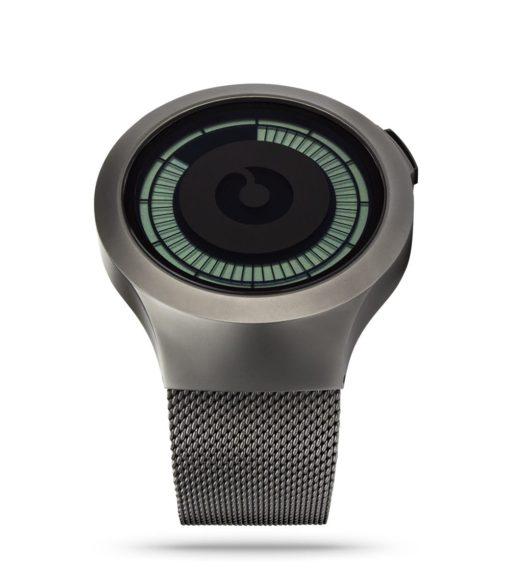 ZIIIRO Saturn Gunmetal Digital Watch