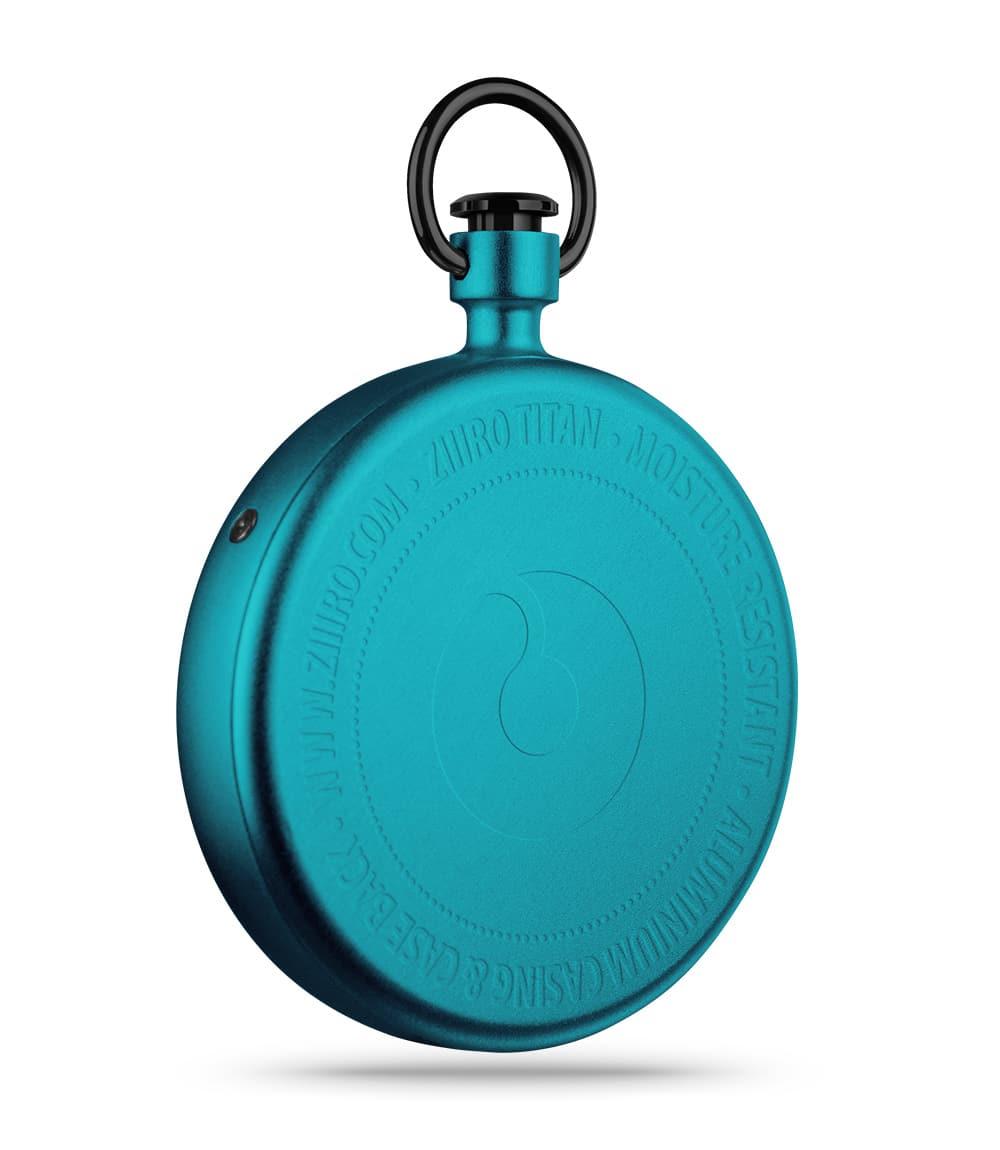 ZIIIRO Titan Azure Pocket Watch Back