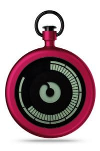 ZIIIRO Titan Cherry Pocket Watch Front