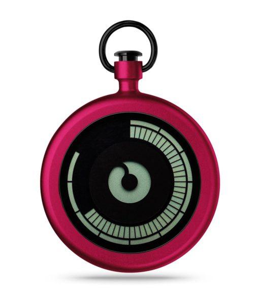 ZIIIRO Titan Cherry Pocket Watch Front