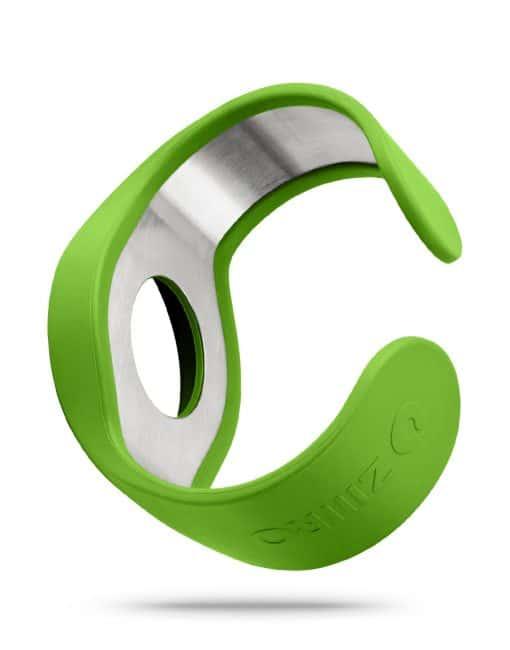ZIIIRO Strap Green Back Interchangeable