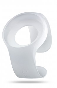 ZIIIRO Strap Milky White Front Interchangeable