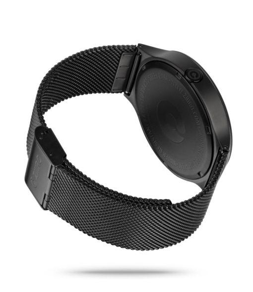 ZIIIRO Eclipse Metallic Black Watch Back