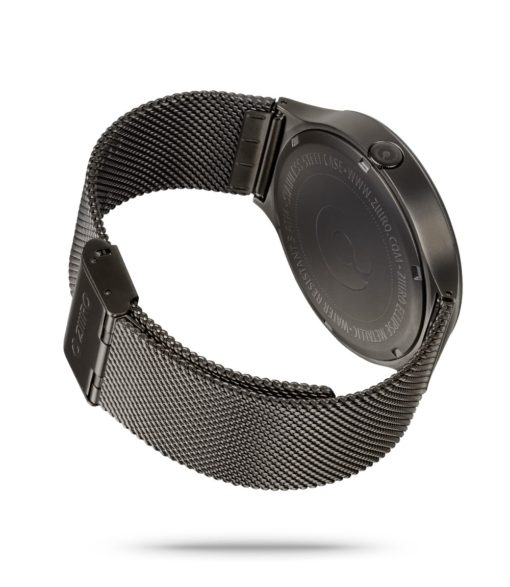 ZIIIRO Eclipse Metallic Gunmetal Watch Back