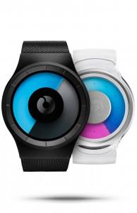 Valentines Bundle of Celeste Black Mono and Proton Clear Purple watches