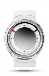 ZIIIRO Eon Transparent Clear Watch Front Interchangeable