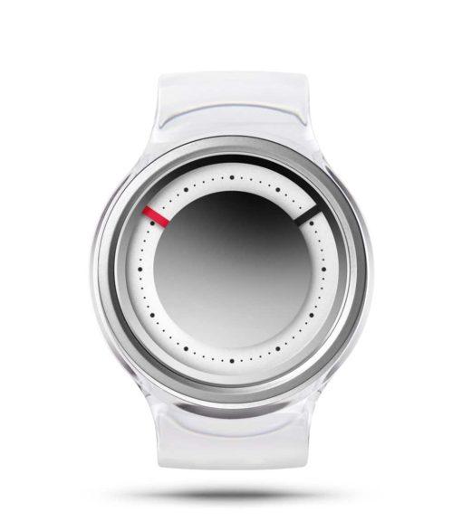 ZIIIRO Eon Transparent Clear Watch Front Interchangeable