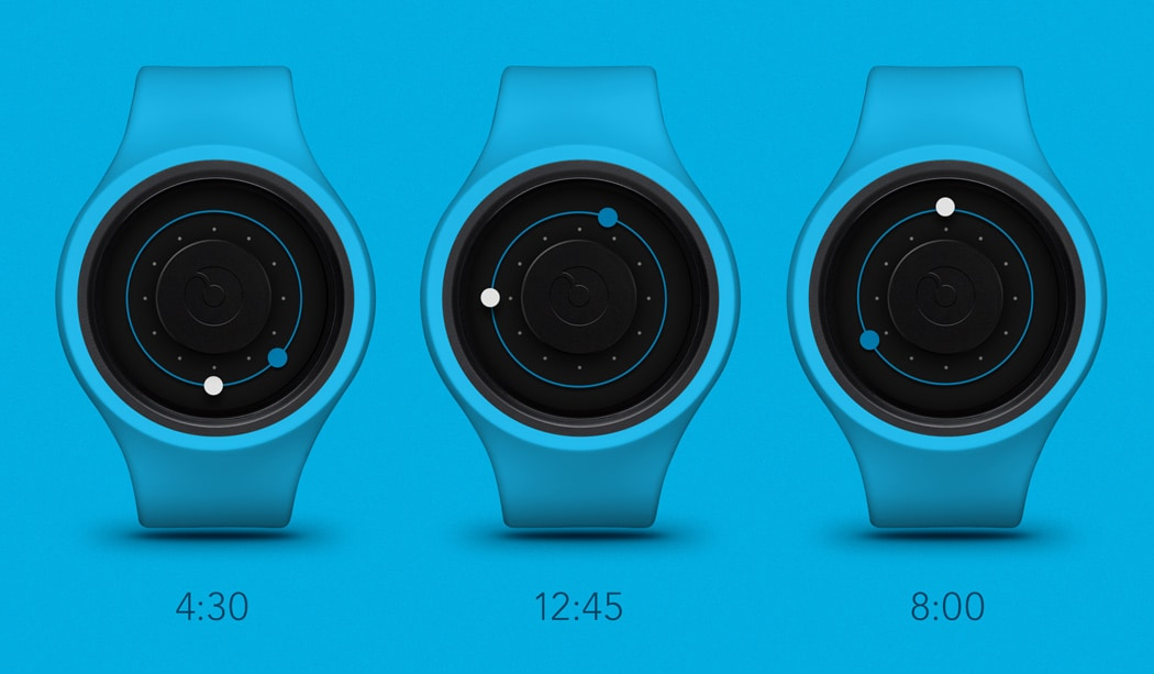 How to read the time on ZIIIRO Orbit Watches