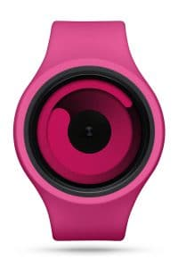 ZIIIRO Gravity Plus+ (Magenta) Interchangeable Watch - front view