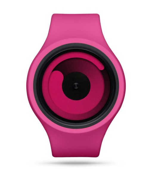 ZIIIRO Gravity Plus+ (Magenta) Interchangeable Watch - front view