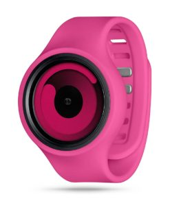 ZIIIRO Gravity Plus+ (Magenta) Interchangeable Watch - diagonal view
