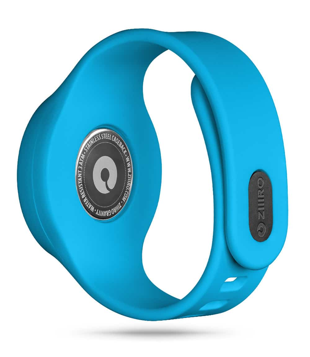 ZIIIRO Gravity Plus+ (Ocean Blue) Interchangeable Watch - back view
