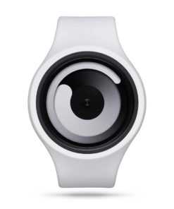 ZIIIRO Gravity Plus+ (Snow White) Interchangeable Watch - front view