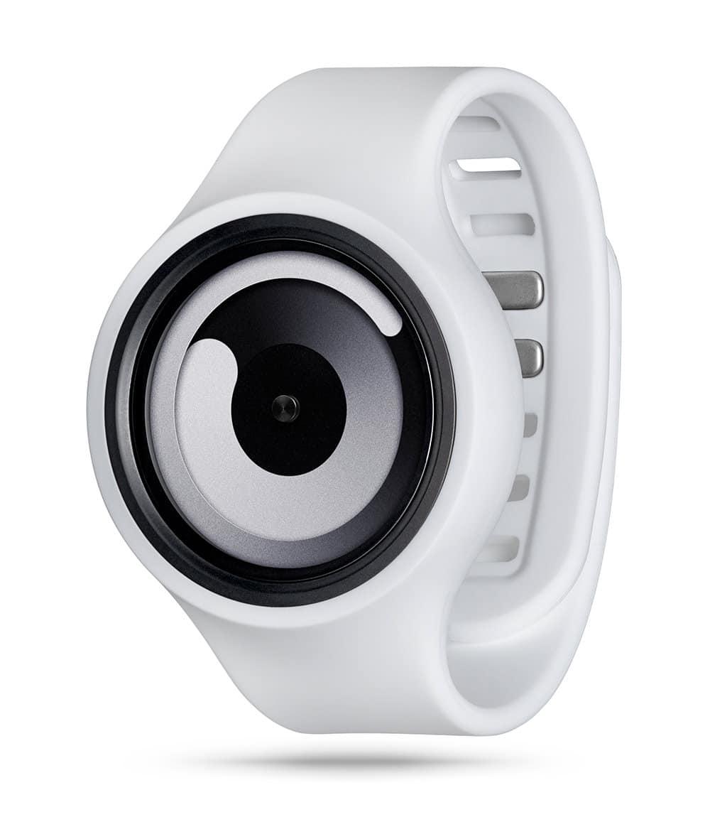 ZIIIRO Gravity Plus+ (Snow White) Interchangeable Watch - diagonal view