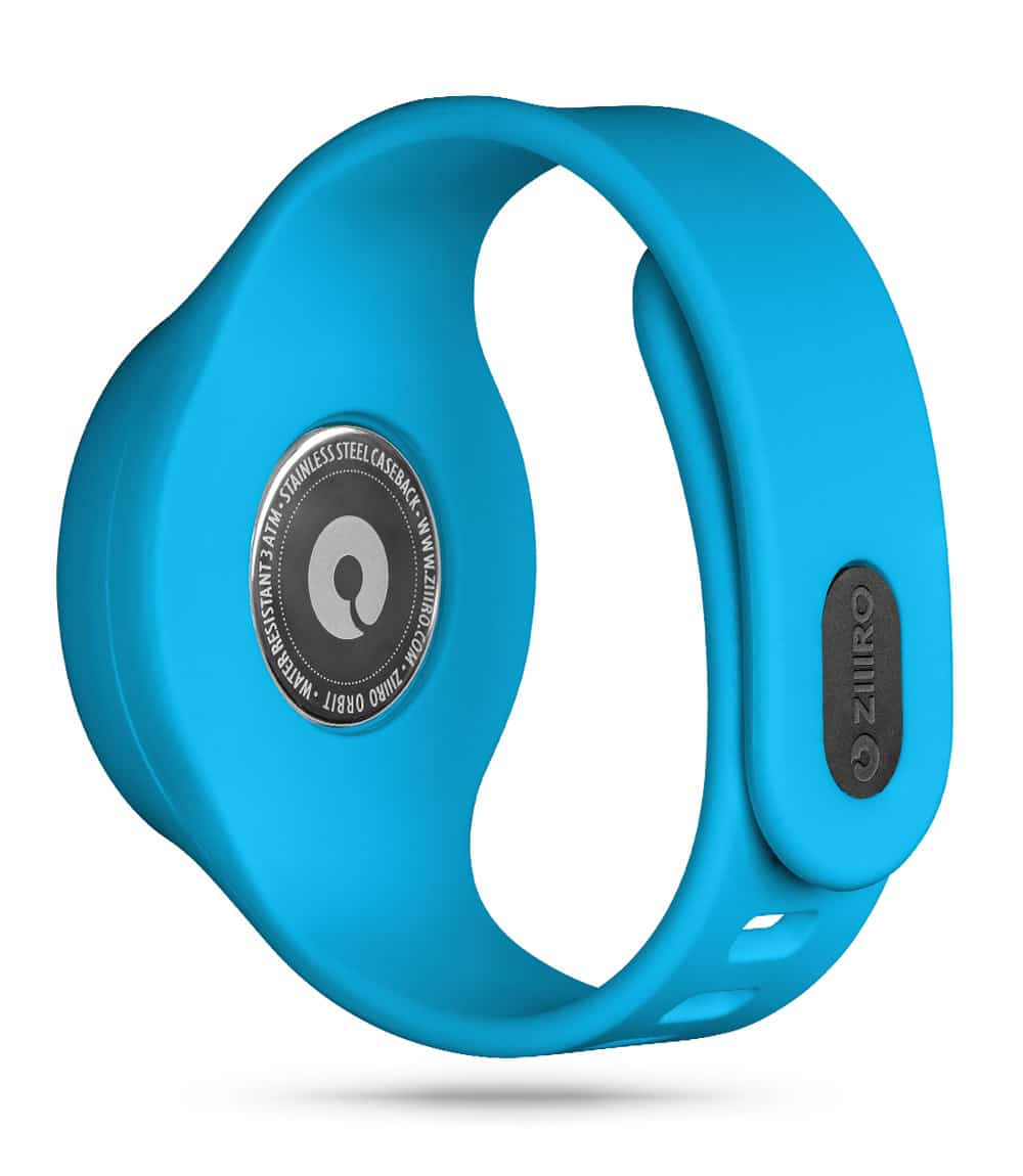 ZIIIRO Orbit Plus+ (Ocean Blue) Interchangeable Watch - back view