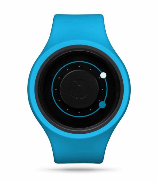 ZIIIRO Orbit Plus+ (Ocean Blue) Interchangeable Watch - front view