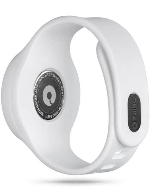ZIIIRO Orbit Plus+ (Snow White) Interchangeable Watch - back view
