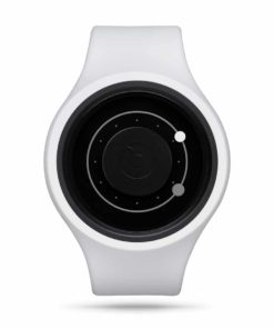 ZIIIRO Orbit Plus+ (Snow White) Interchangeable Watch - front view