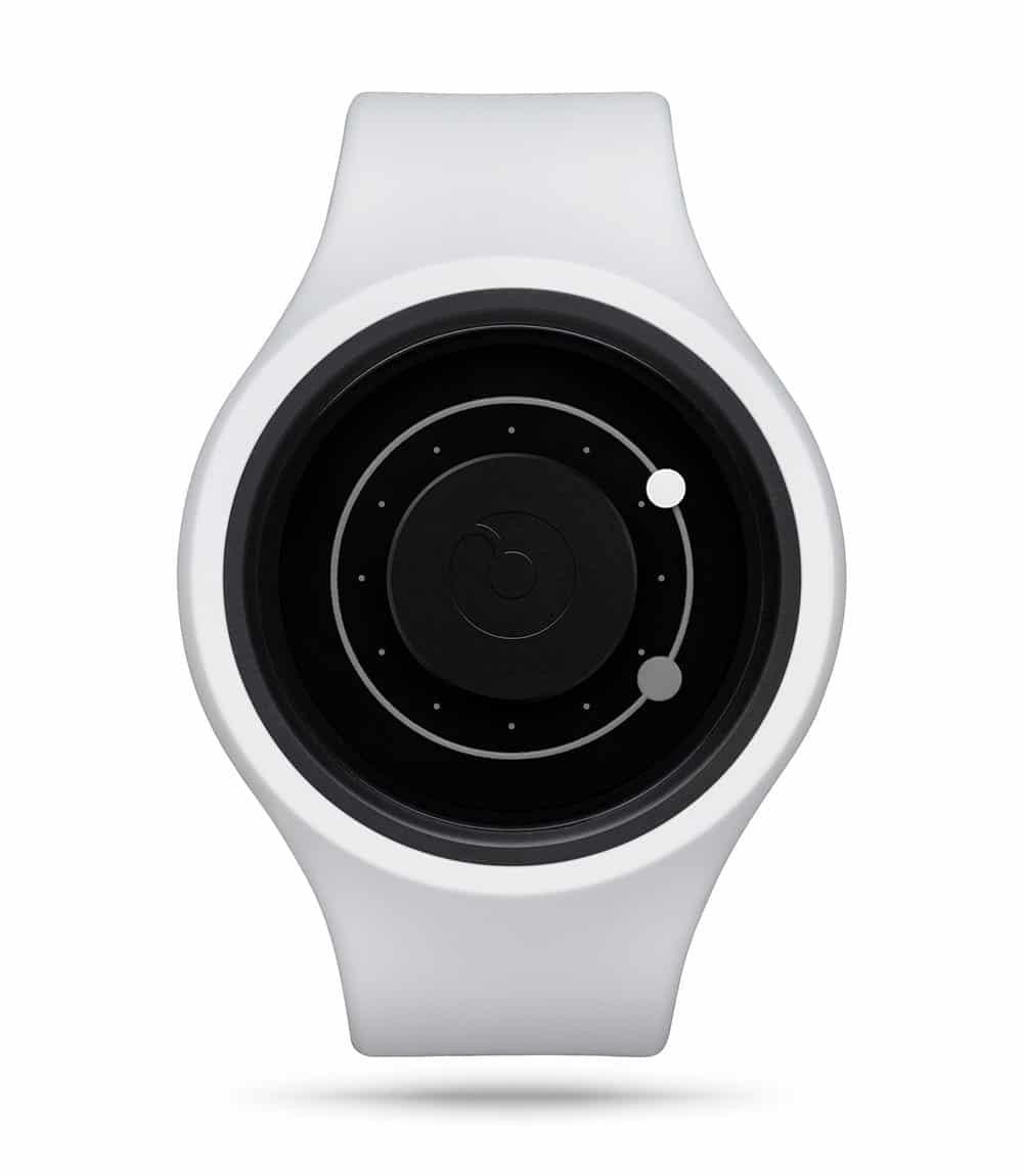 ZIIIRO Orbit Plus+ (Snow White) Interchangeable Watch - front view