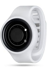 ZIIIRO Orbit Plus+ (Snow White) Interchangeable Watch - diagonal view