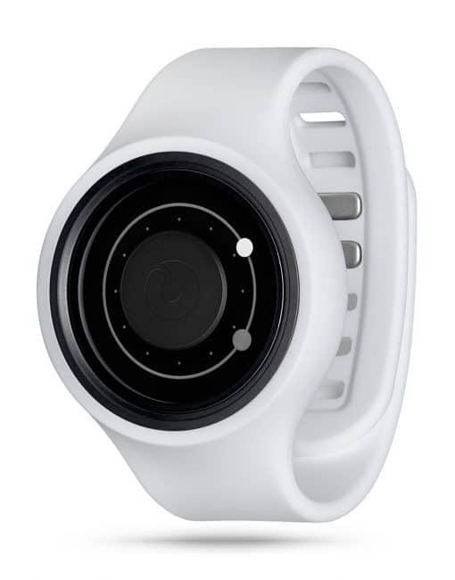 ZIIIRO Orbit Plus+ (Snow White) Interchangeable Watch - diagonal view