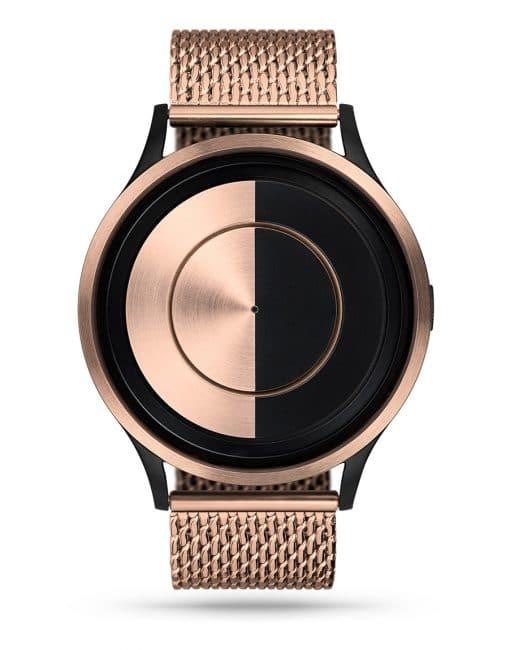 ziiiro-lunar-watch-rosegold-milanese-rosegold-front